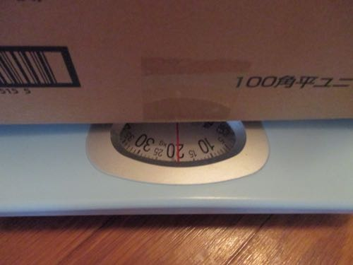 一箱20キロあります